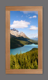 Photo Mural 6wbL_34x64Rustic_RedOak